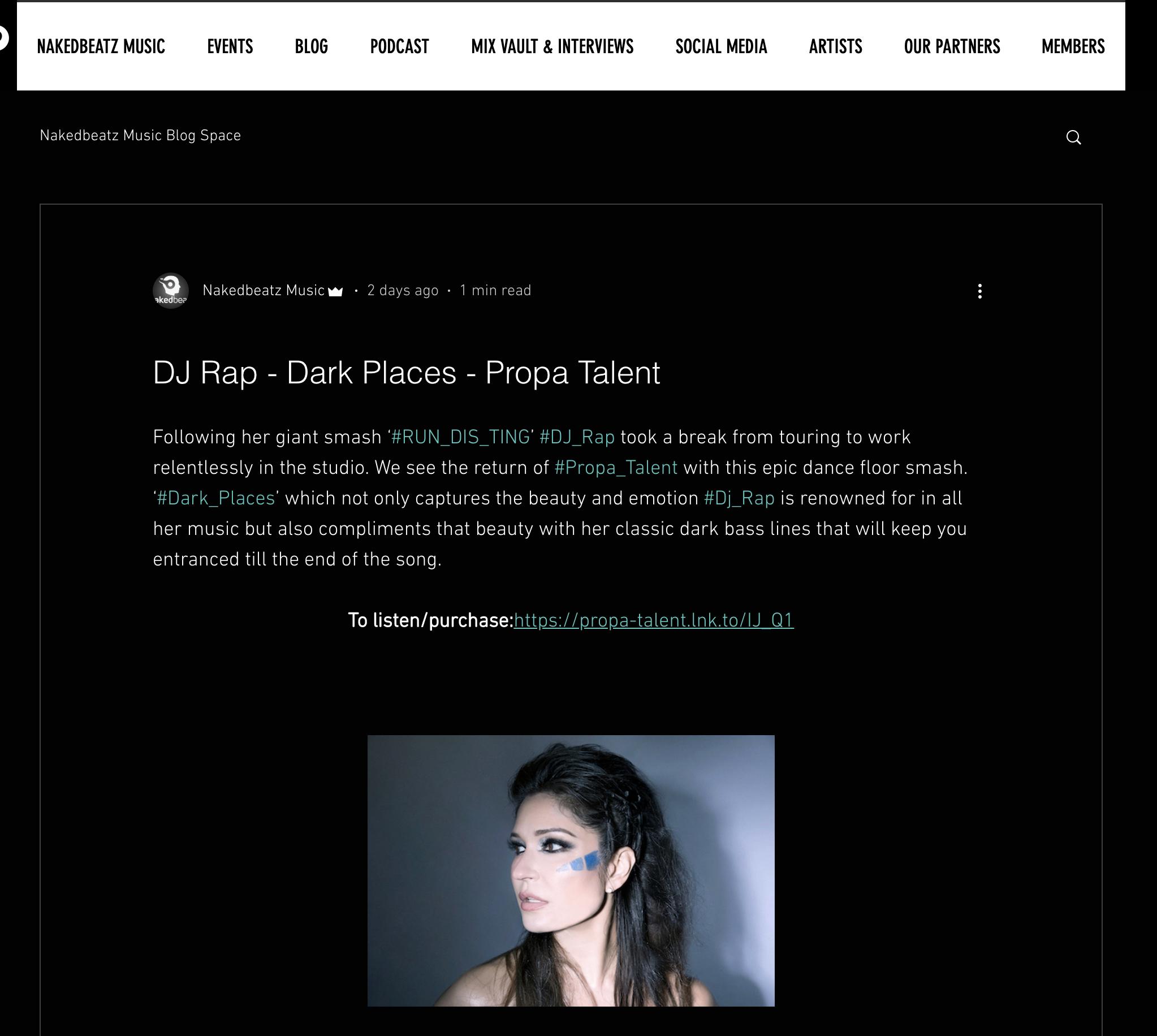 DJ RAP   PRESS - DJ RAP