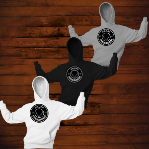 Propa Hoodies OUT OF STOCK, NO REORDER, ONLY BLACK HOODIES S-XL LEFT